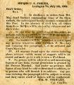 Civil War Broadside.  U. S. Army Occupation of Lexington, Virginia. [digital]